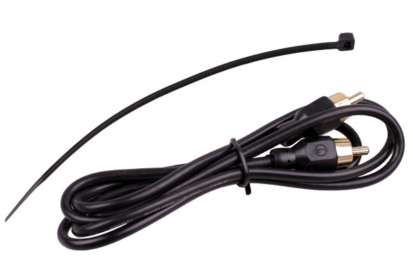 Cinchkabel 1 Meter L (left) with high quality for home and car Hifi