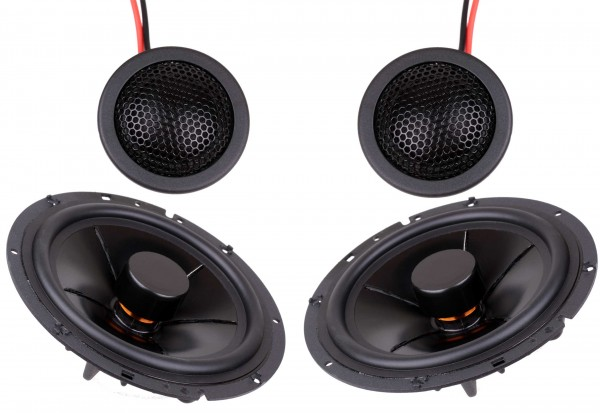 CS-6 Set Car Hifi Speaker tweeter & Bass Midrange