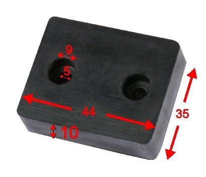 G-44-10 Gummidämpfer
