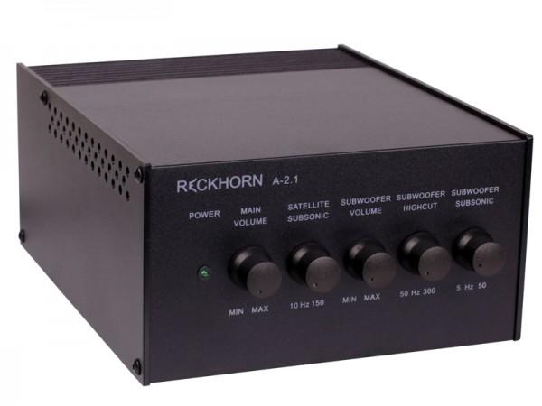 A-2.1 Stereo Verstärker + Mono Subwoofer (gebraucht)